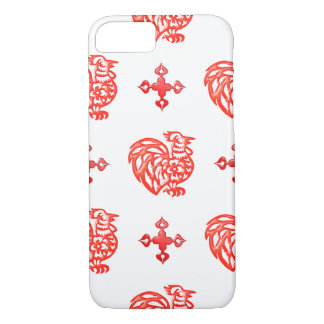 Red Roster iPhone 8/7 Case