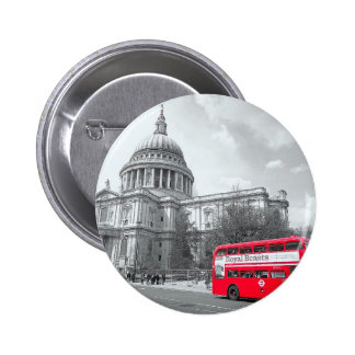 Red Routemaster Pins