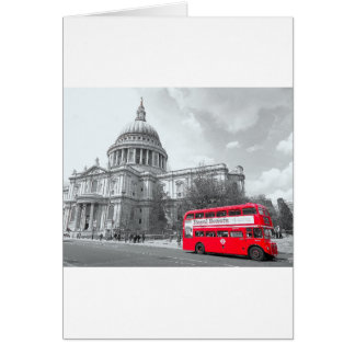 Red Routemaster Card