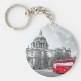 Red Routemaster Key Chain