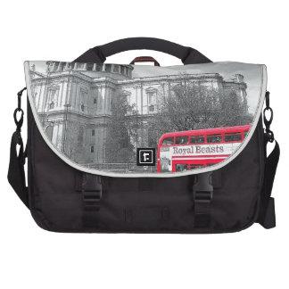 Red Routemaster Laptop Bag