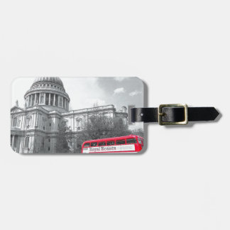 Red Routemaster Travel Bag Tags