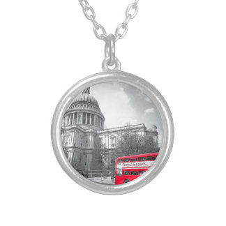 Red Routemaster Necklaces