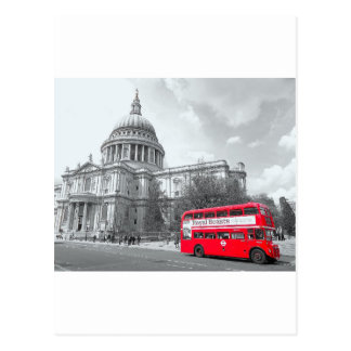Red Routemaster Postcard