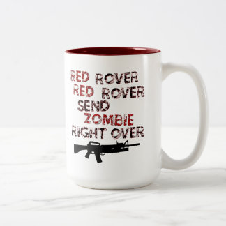 Red Rover Two-Tone Coffee Mug