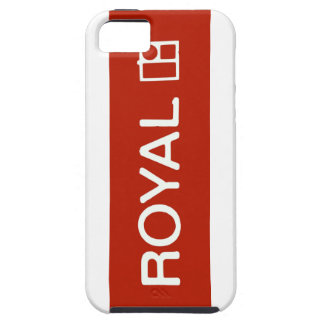 red royal iPhone 5 case
