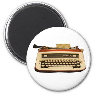 Red Royal Typewriter Refrigerator Magnets