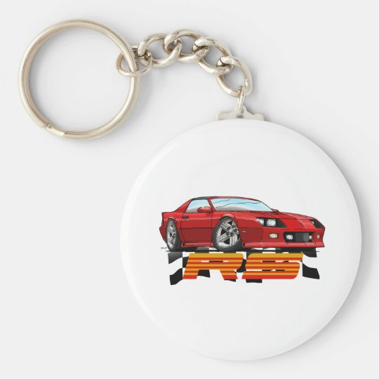 Red_RS_3G Keychain