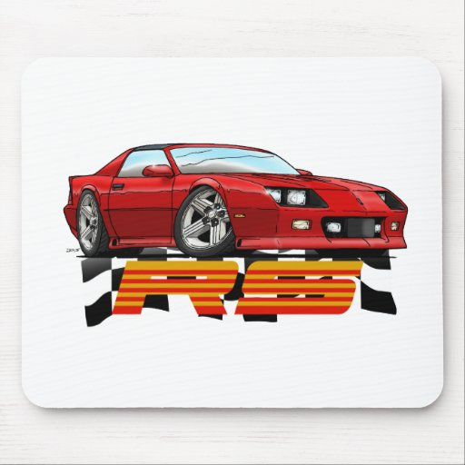 Red_RS_3G Mouse Pads