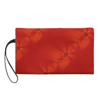 Red Rube Wristlet Clutches