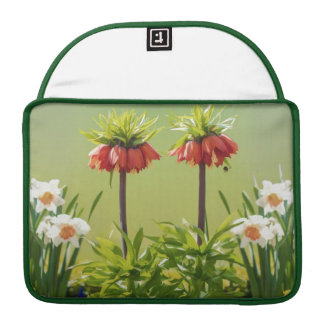 Red Rubra Tulips MacBook Pro Sleeve