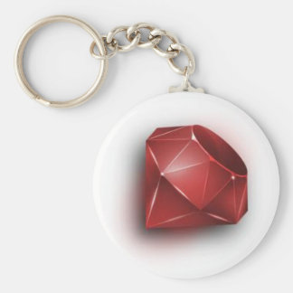 Red Ruby Keychains