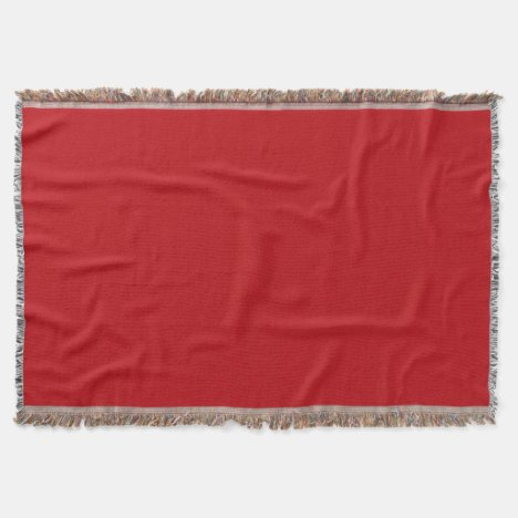 Red Ruby Throw Blanket