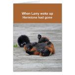Red-ruffed lemur card