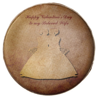 Red Rustic Gay Wife Valentine Oreo Cookies