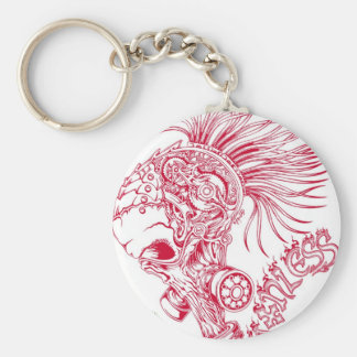 Red - Ruthless Keychain