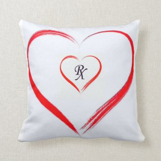 Red RX Pillow