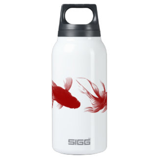 Red Ryukin Goldfish 10 Oz Insulated SIGG Thermos Water Bottle