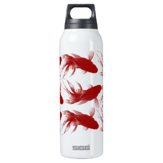 Red Ryukin Goldfish 16 Oz Insulated SIGG Thermos Water Bottle