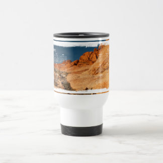 Red Saddle Rocks; 2012 Calendar Coffee Mug