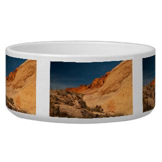 Red Saddle Rocks Bowl