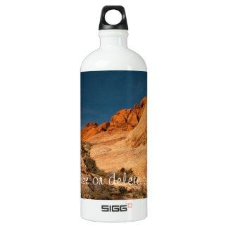 Red Saddle Rocks; Customizable SIGG Traveler 1.0L Water Bottle
