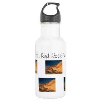 Red Saddle Rocks; Nevada Souvenir 18oz Water Bottle
