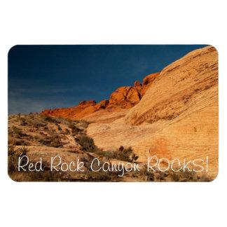 Red Saddle Rocks; Nevada Souvenir Flexible Magnet