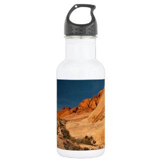 Red Saddle Rocks 18oz Water Bottle