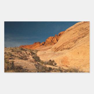 Red Saddle Rocks Stickers