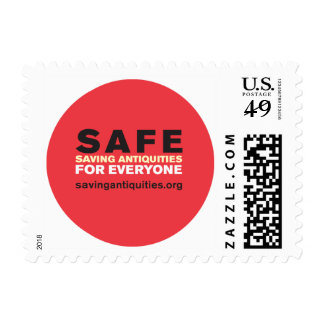 Red SAFE stamp