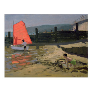 Red Sail Isle of Wight Postcard