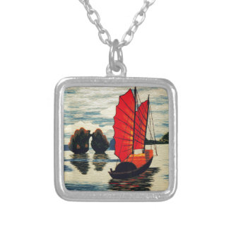 Red Sail ! Personalized Necklace