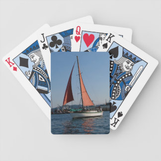 RED SAILS BICYCLE PLAYING CARDS