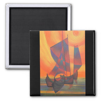 Red Sails in the Sunset Magnets
