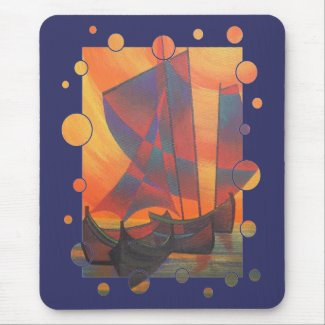 Red Sails In The Sunset mousepad