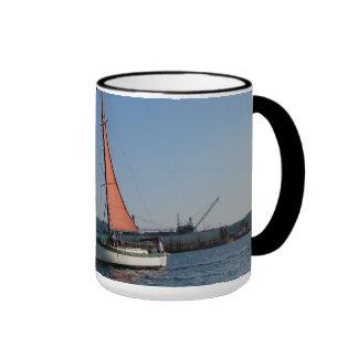 Red Sails Coffee Mugs