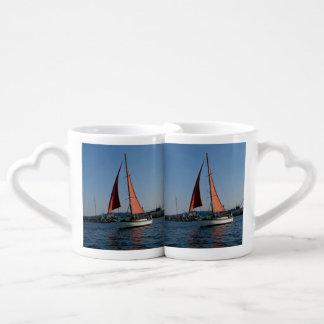 Red Sails Lovers Mug Set