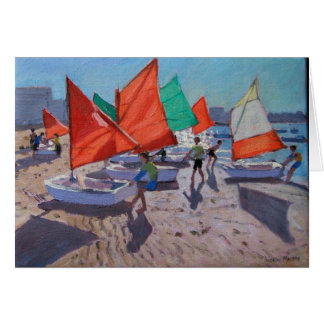 Red Sails Royan France Card