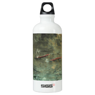 Red Salmon 02 Water Bottle