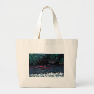Red Salmon or Sockeye Salmon in Spawning Bed Tote Bag