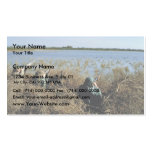 Red Salmon or Sockeye Salmon in Spawning Bed Business Card Templates