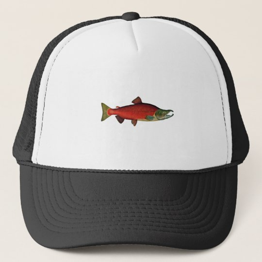 Red Salmon (spawning phase) Trucker Hat