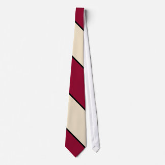 Red Sand and Black Neck Tie