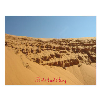 Red Sand Story Postcard