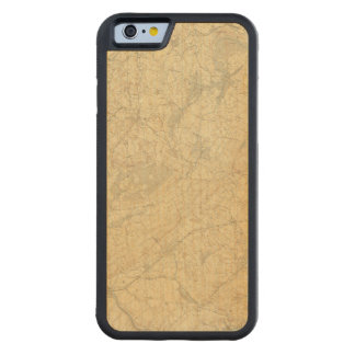 Red Sandstone, New Jersey 2 Carved® Maple iPhone 6 Bumper Case