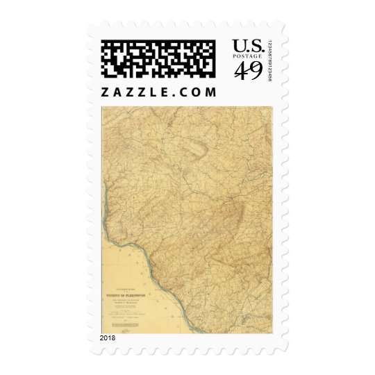 Red Sandstone, New Jersey Postage