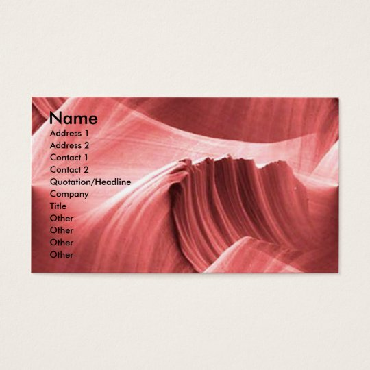 red_sandstone_scape, Name, Address 1, Address 2... Business Card