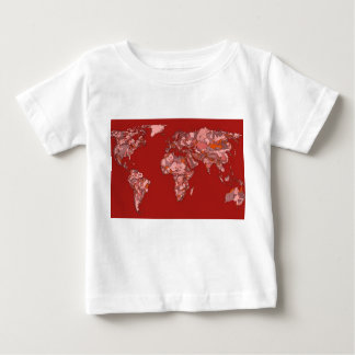 Red sandy atlas baby T-Shirt