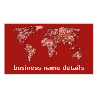 Red sandy atlas business card